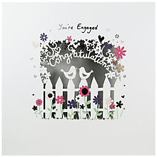 Buy Paperlink You're Engaged Greeting Card Online at johnlewis.com