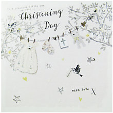 Buy Hammond Gower Christening Day Greeting Card Online at johnlewis.com