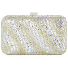 Buy Dune Bsarah Clutch Bag, Gold Online at johnlewis.com