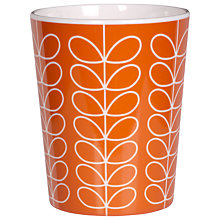 Buy Orla Kiely Linear Stem Tumbler, Red Online at johnlewis.com