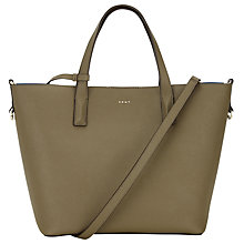 Buy DKNY Bryant Park Saffiano Leather Tote Bag, Utility Online at johnlewis.com