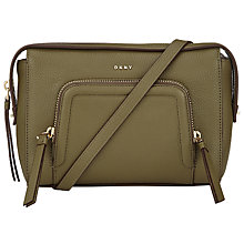 Buy DKNY Chelsea Vintage Leather Across Body Bag Online at johnlewis.com