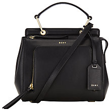 Buy DKNY Bryant Park Saffiano Leather Satchel Online at johnlewis.com