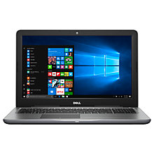 "Buy Dell Inspiron 15 5000 Series Laptop, Intel Core i5, 8GB RAM, 256GB SSD, AMD Radeon R7, 15.6"", Black Online at johnlewis.com"