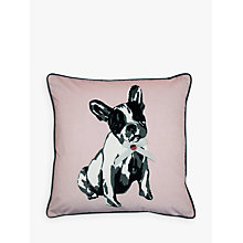 Buy Ted Baker Keliza French Bulldog Cushion Online at johnlewis.com