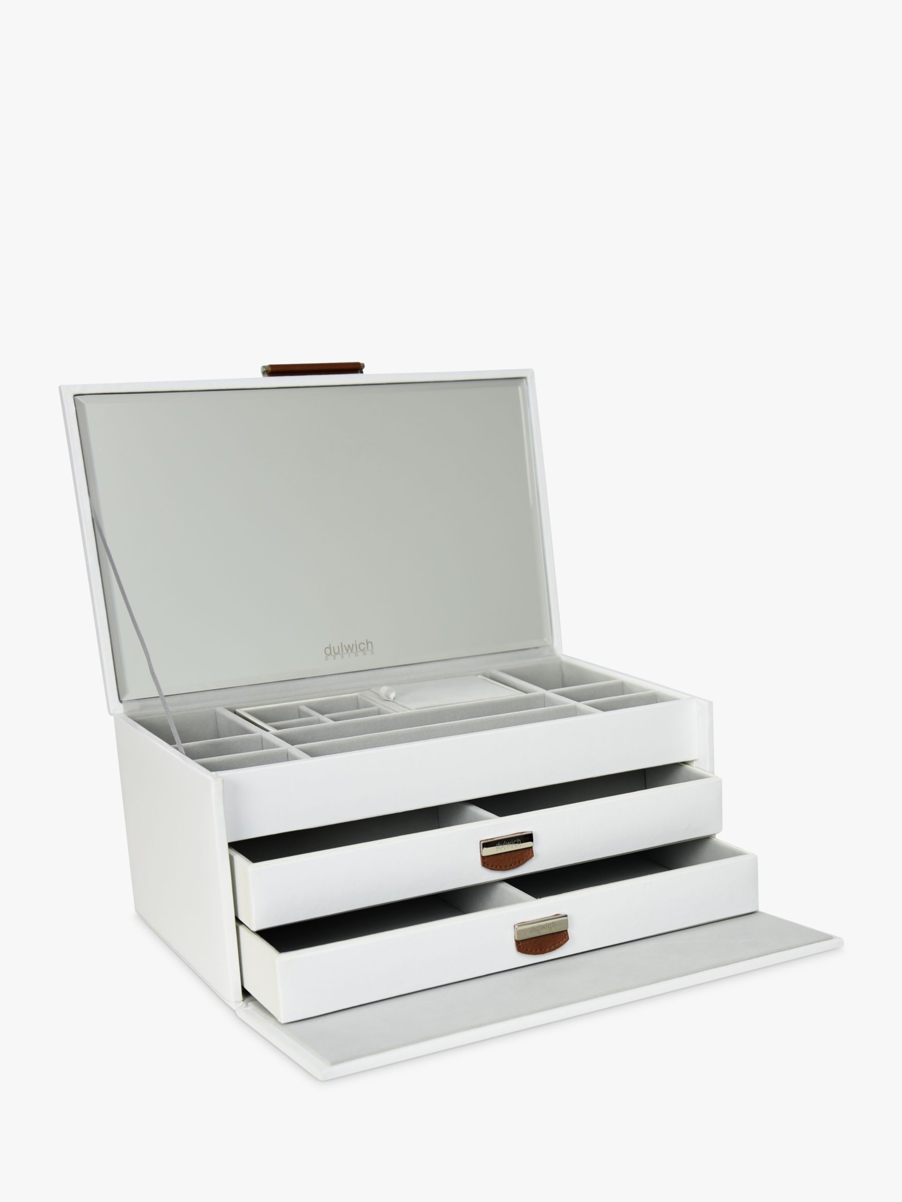 Dulwich Designs DDM LGE JEWLRY BOX WHITE