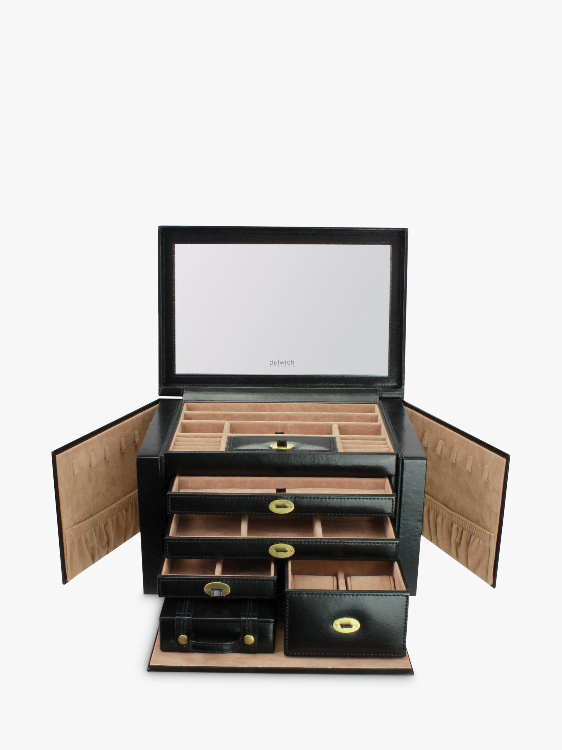 Dulwich Designs DDH XL JEWLRY BOX BLACK