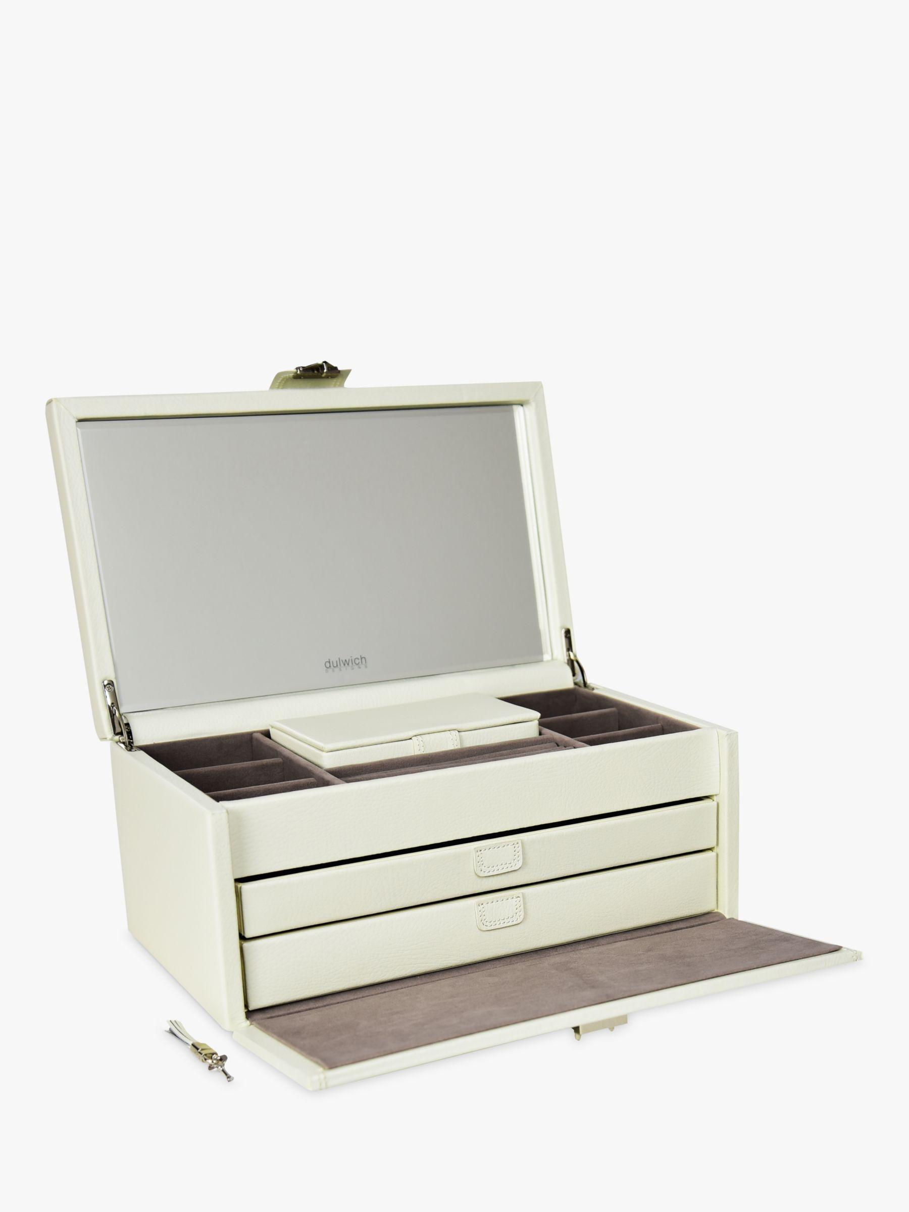 Dulwich Designs DDP XL JEWLRY BOX CREAM