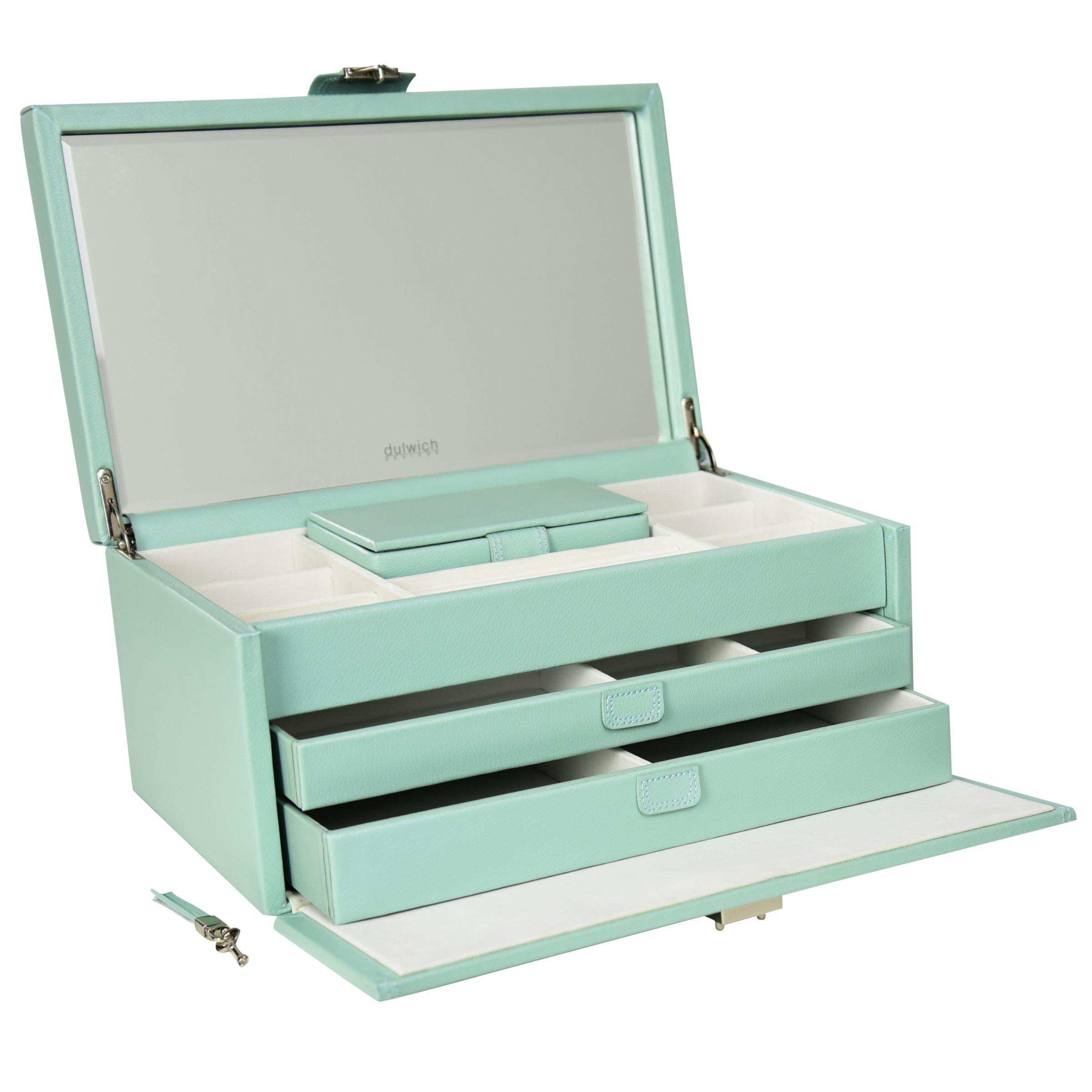 Dulwich Designs DDP XL JEWLRY BOX DUCK EGG