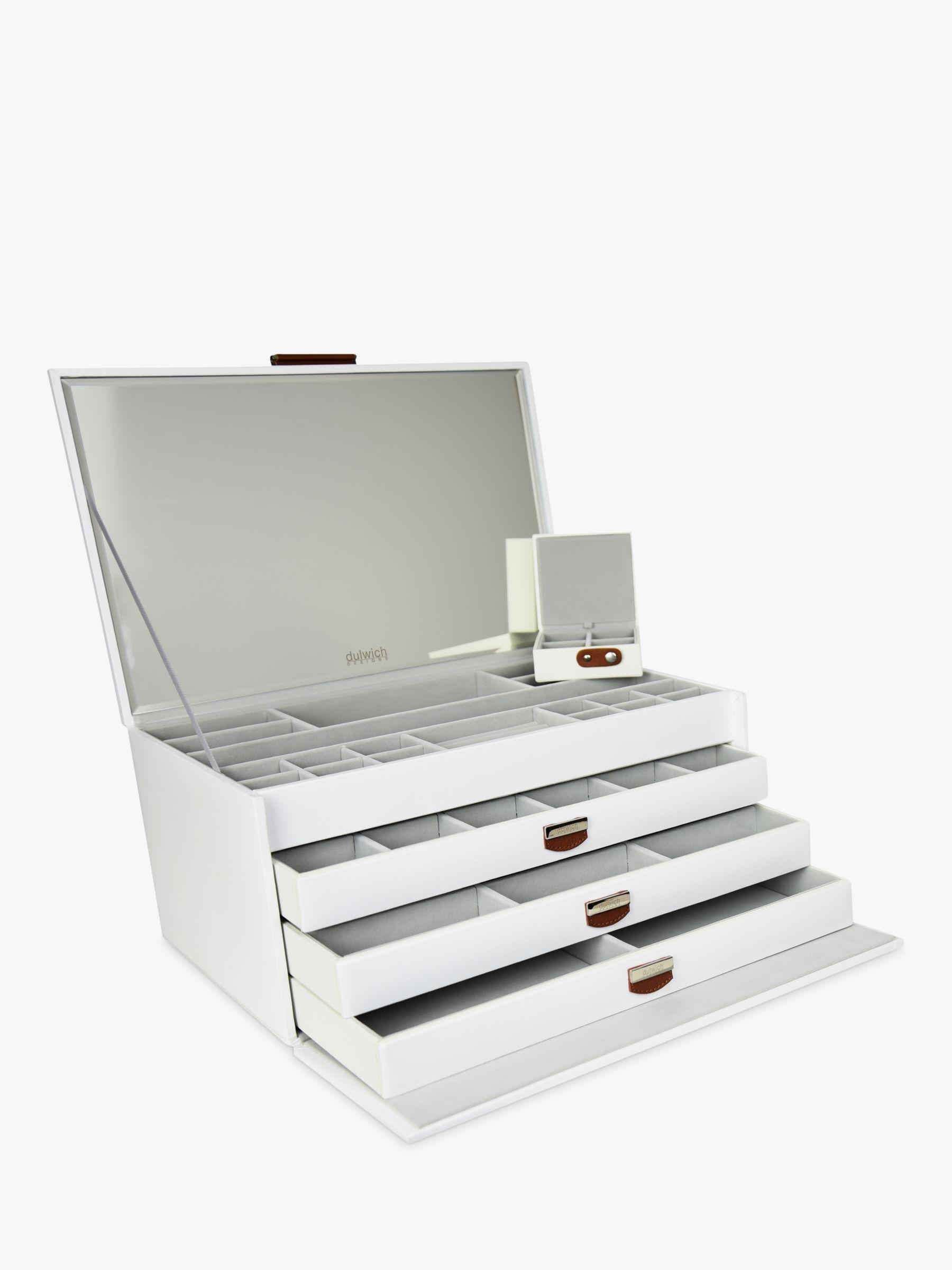 Dulwich Designs DDM XL JEWLRY BOX WHITE