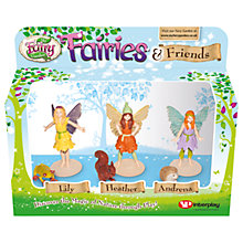 Buy My Fairy Garden Fairies & Friends Figurine Pack, Pack of 3 Online at johnlewis.com