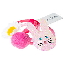 Buy Rockahula Children's Bunny Hair Bobbles, Pack of 3, Multi Online at johnlewis.com