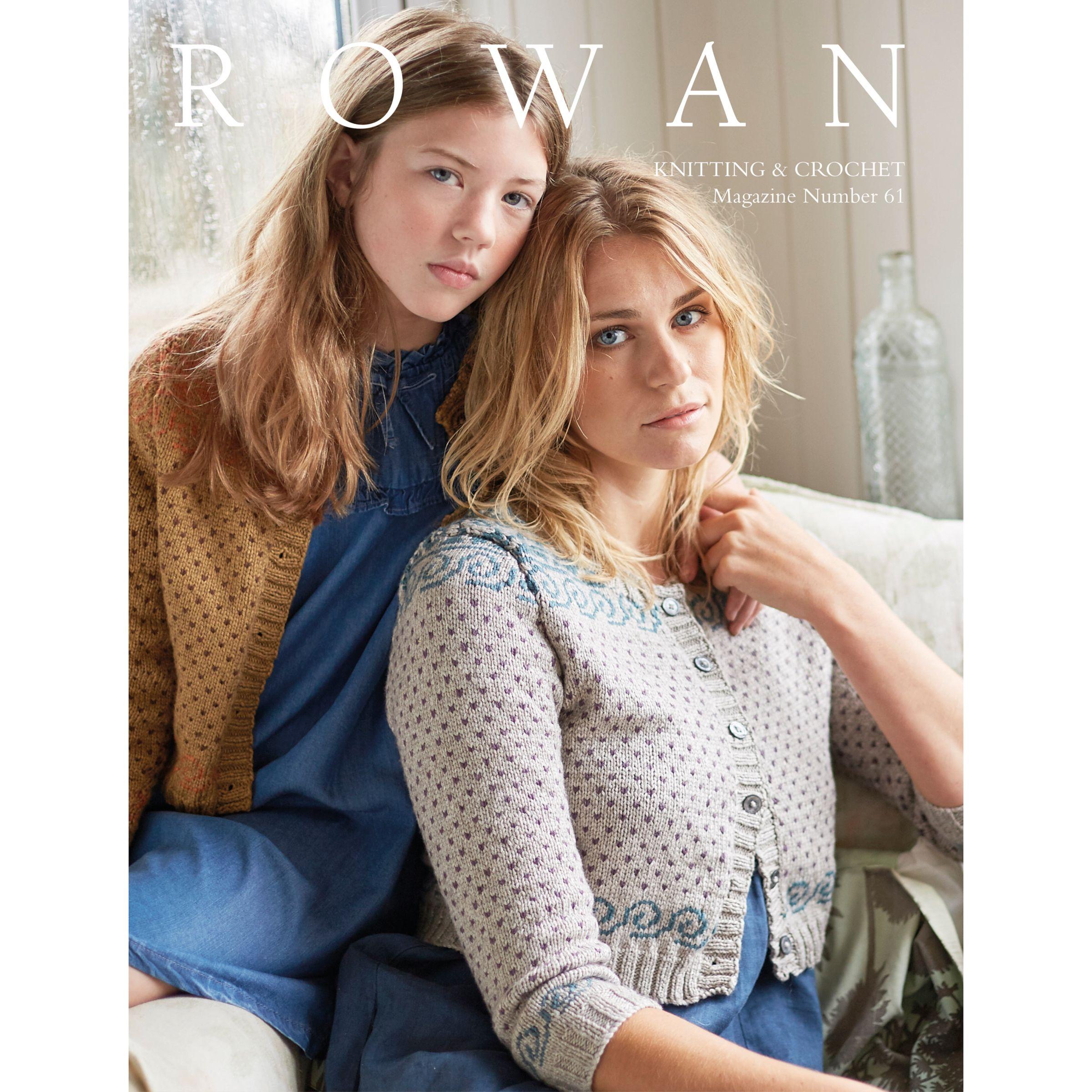 Rowan Rowan Knitting and Crochet Magazine 61