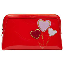 Buy Ted Baker Redford Wash Bag, Orange Online at johnlewis.com