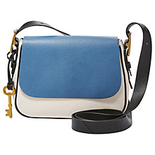 Buy Fossil Harper Leather Small Across Body Bag Online at johnlewis.com