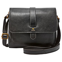 Buy Fossil Kinley Small Leather Across Body Bag Online at johnlewis.com