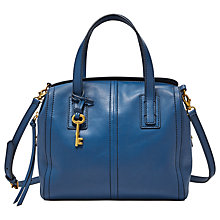 Buy Fossil Emma Leather Satchel Online at johnlewis.com