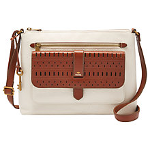 Buy Fossil Kinley Leather Medium Across Body Bag Online at johnlewis.com