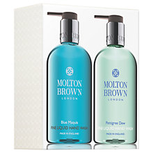 Buy Molton Brown Blue Maquis & Pettigree Dew Hand Wash Set Online at johnlewis.com