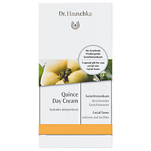 Buy Dr Hauschka Care Concept Quince Day Cream with Facial Toner Online at johnlewis.com