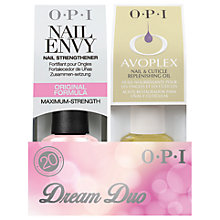 Buy OPI Nail Envy and Avoplex Replenishing Oil Dream Duo Online at johnlewis.com