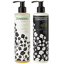 Buy Cowshed Dirty Cow & Grubby Cow Hand Care Duo Online at johnlewis.com