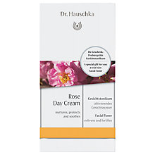 Buy Dr Hauschka Care Concept Rose Day Cream with Facial Toner Online at johnlewis.com