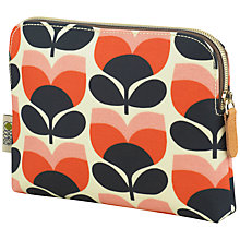 Buy Orla Kiely Flower Stripe Cosmetic Bag Online at johnlewis.com