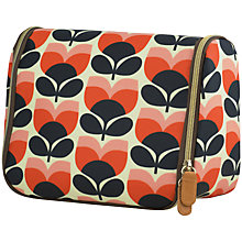 Buy Orla Kiely Flower Stripe Hanging Wash Bag Online at johnlewis.com