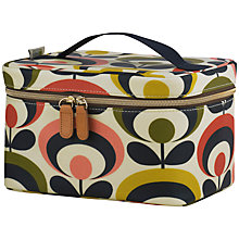 Buy Orla Kiely Seventies Flower Train Case Online at johnlewis.com