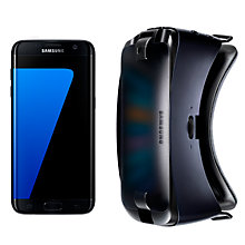 "Buy Samsung Galaxy S7 Smartphone, Android, 5.1"", 4G LTE, SIM Free, 32GB with VR Headset Online at johnlewis.com"