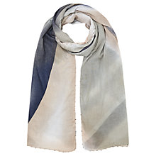 Buy Jigsaw Faded Shadow Bead Edge Scarf, Multi Online at johnlewis.com