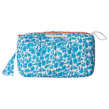 Buy White Stuff Bright Dotty Floral Makeup Bag, Teal Online at johnlewis.com