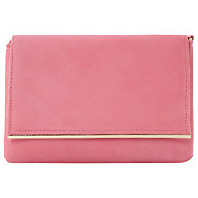 Buy Dune Bouncy Clutch Bag, Pink Online at johnlewis.com