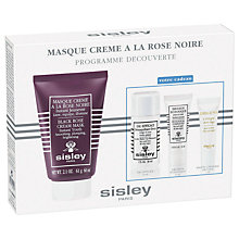 Buy Sisley Black Rose Cream Mask Discovery Kit Online at johnlewis.com