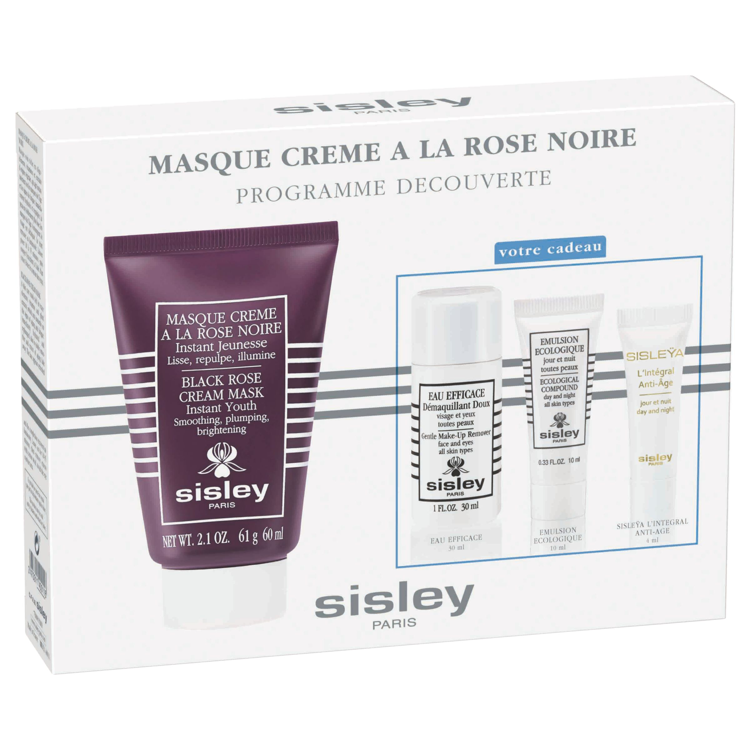 Sisley Sisley Black Rose Cream Mask Discovery Kit