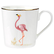 Buy Sara Miller Flamboyant Flamingo Mug Online at johnlewis.com