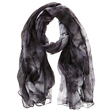 Buy Mint Velvet Blake Print Scarf, Dark Blue Online at johnlewis.com