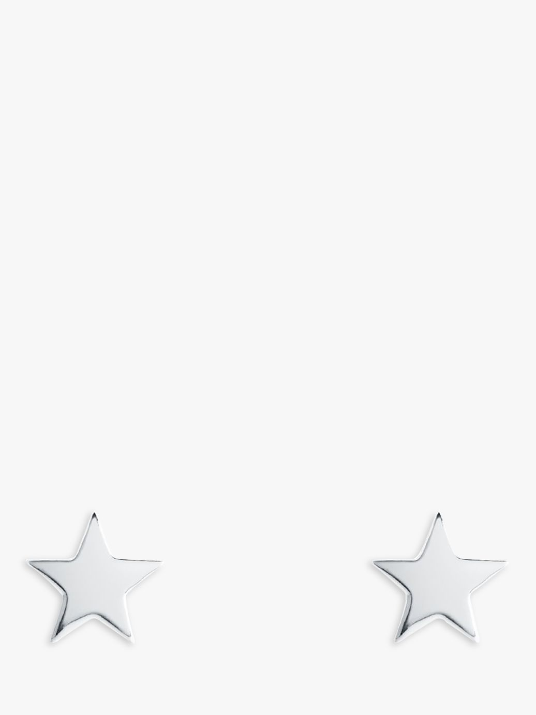 Joma Joma Siena Star Stud Earrings, Silver