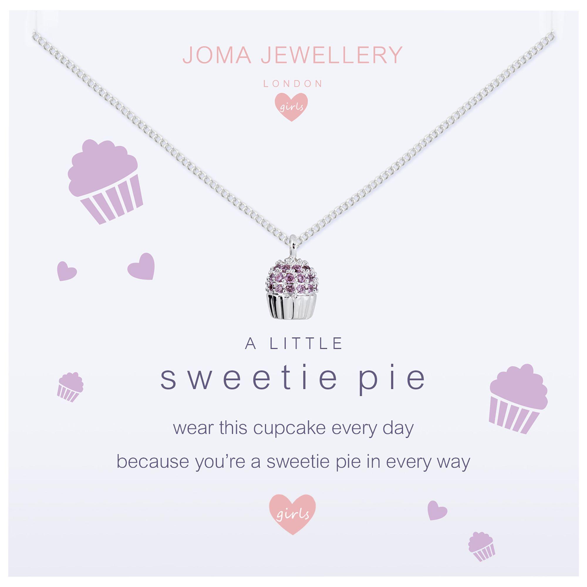 Joma Joma A Little Sweetie Pie Pendant Necklace, Silver