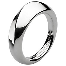 Buy Kit Heath Bevel Wave Ring, Silver Online at johnlewis.com