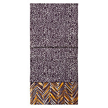 Buy Hobbs Cara Scarf, Navy/Multi Online at johnlewis.com