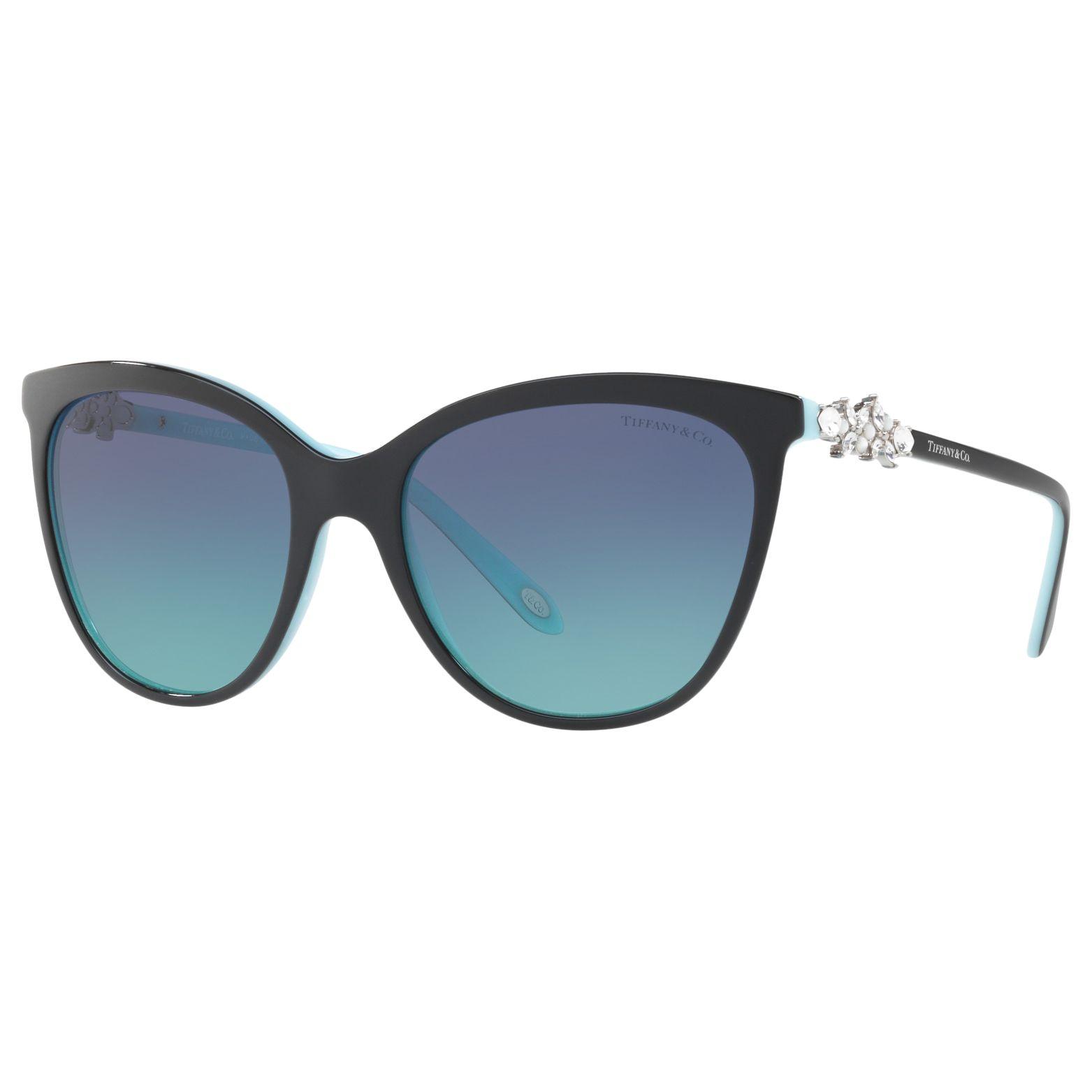 Tiffany & Co Tiffany & Co TF4131HB Embellished Cat's Eye Sunglasses