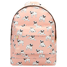 Buy Mi-Pac Mini Pugs Backpack, Multi Online at johnlewis.com