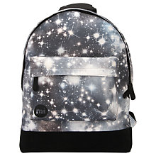 Buy Mi-Pac Custom Galaxy Backpack, Black Online at johnlewis.com