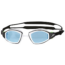 Buy Speedo Futura Biofuse Pro Swimming Goggles, Blue/Black Online at johnlewis.com