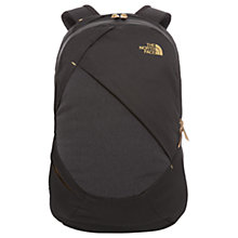 Buy The North Face Women's Isabella Backpack, Black/Grey Online at johnlewis.com