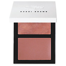 Buy Bobbi Brown Cheek Glow Palette, Bare Cream Online at johnlewis.com