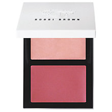 Buy Bobbi Brown Cheek Glow Palette, Pink Opal Cream Online at johnlewis.com