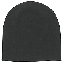 Buy hush Cashmere Beanie, Charcoal Marl Online at johnlewis.com